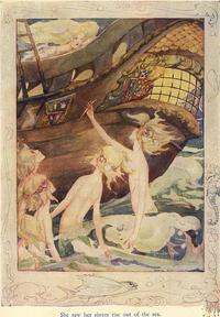 アン・アンダーソン画の人魚姫② - Books