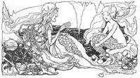 アン・アンダーソン画の人魚姫③ - Books