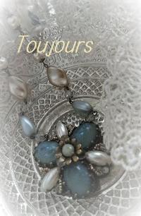 Verre  depoli - Bijoux  du  Bonheur ~ビジュー ドゥ ボヌール~