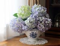 暑中お見舞い申し上げます。 - 元木はるみのバラとハーブのある暮らし・Salon de Roses