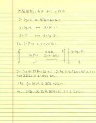 対数関数の底が非1の理由 - ワイドスクリーン・マセマティカ