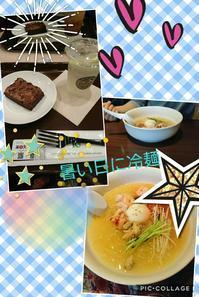 暑い日に冷麺♪ - タイ式マッサージ サイチャイ
