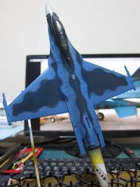 ハセガワ 1/72 三菱F-2B 製作中 (13) - DNF