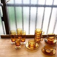 アンバー ガラス お知らせ - 暮らしの道具 小粒舎