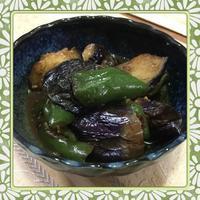 茄子とピーマンの簡単味噌煮(レシピ付) - kajuの■今日のお料理・簡単レシピ■