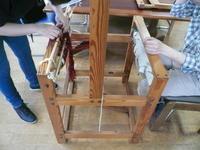 7月の織物活動① - イクトスマイムの手織り活動~草木染めの糸を使って~