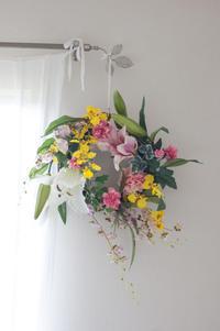 お義母様へのお誕生祝いのリース - le jardinet