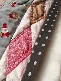夏のクリスマスパッチワークキルト - eri-quilt日記3