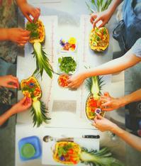 小諸KoCoHouseさんでタイ料理レッスン開催致しました❤ - momo*poele 旅する料理レッスン&消しゴムはんこ製作中(佐久市)
