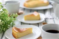 焼き菓子クラスサマーレッスン「チーズケーキ」講座 - Atelier tiara