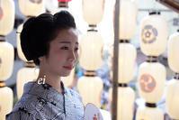 舞妓千賀遥 祇園祭 - ちょっとそこまで