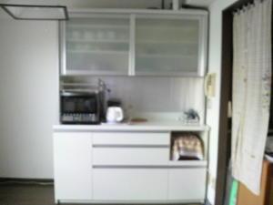 我が家のキッチンキッチンボード新調 -