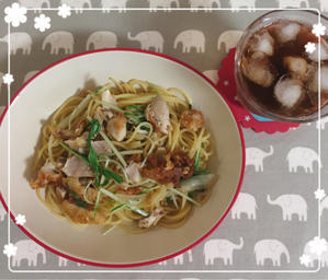 ケンタッキーの鶏肉で作ったぱすた。 - Minamiオフィシャルブログ