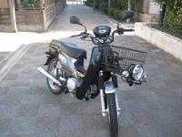 クロスカブWシート仕様 - バイクの横輪