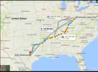 1275マイル(2051km)を3泊4日でオハイオからテキサスまでドライブ - TEXASひらめ記