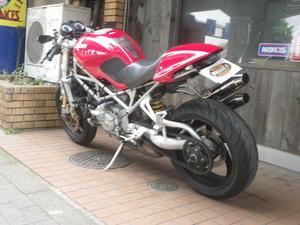 DUCATI S4R 入荷です! - BULLET MOTORCYCLE(バレットモーターサイクル)