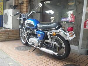 W1S入荷です! - BULLET MOTORCYCLE(バレットモーターサイクル)