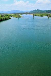 四万十川を渡って - ゆる鉄旅情