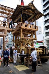 祇園祭2017 月鉾車輪取付 - 花景色-K.W.C. PhotoBlog
