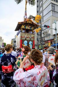 祇園祭2017 鶏鉾・月鉾曳初め - 花景色-K.W.C. PhotoBlog