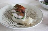 焼き鯖寿司 - にこにこ日和