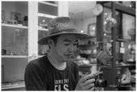 平野監督とAngenieux - BobのCamera