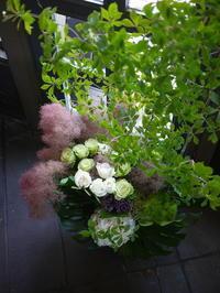 7/7にOPENの南区常磐5条のフレンチレストランへ。2017/07/12。 - 札幌 花屋 meLL flowers