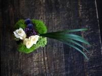 和食のお店のOPENに。「和をイメージ出来る感じ」。2017/07/12。 - 札幌 花屋 meLL flowers