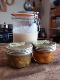炊飯器なしで甘酒を作ってみる/発酵ジャム、発酵ジュースを仕込む。 - 暮らしのつづりかた。