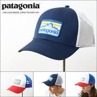 patagonia [パタゴニア正規代理店] LINE LOGO BADGE LOPRO TRUCKER HAT [38181] MEN'S/LADY'S - refalt   ...   kamp temps