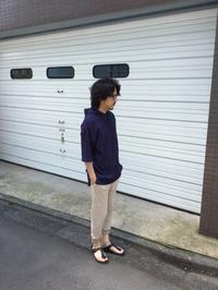夏でも着たい。プルオーバーパーカー。 - AUD-BLOG:メンズファッションブランド【Audience】を展開するアパレルメーカーのブログ