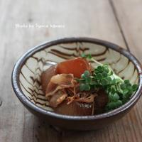 しゅんでる 豚肉と大根の甘辛煮 - ふみえ食堂  - a table to be full of happiness -