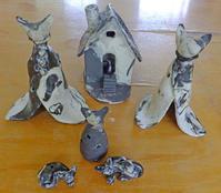 本焼きの窯出し 7月17日(月) - しんちゃんの七輪陶芸、12年の日常