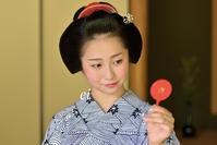 舞妓千賀遥 豆鏡に見えたのは・・・ - ちょっとそこまで