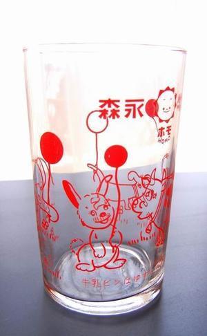 森永ミルク 動物イラストのレトログラス - himedaria*