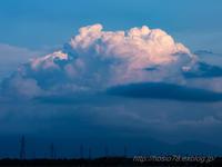 梅雨末期 - デジタルで見ていた風景