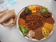 LAグルメ〜初のエチオピア料理に感動! Lalibela Ethiopian Restaurant - MG Diary