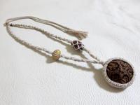【マクラメ&ヘンプ】#139 五仏菩提樹のネックレス - Shop Gramali Rabiya (SGR)
