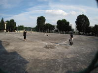 熱波の中で - 学童野球と畑とたまに自転車