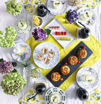 Happy Summer Table - nico☆nicoな暮らし~絵付けと花とおやつ