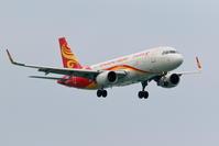 香港航空 A320のアプローチ - 南の島の飛行機日記