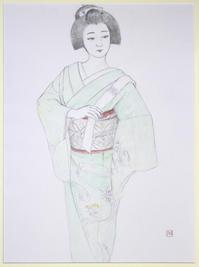 宮川町 ふく愛さん - 黒川雅子のデッサン  BLOG版