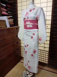 夏のお着物、優雅で涼しそう。 - 京都嵐山 着物レンタル&着付け「遊月」