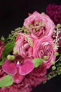 アトリエ初ワークショップ、たくさんのありがとう♪ - お花に囲まれて