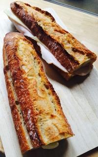 ボネダンヌでサンドイッチ - NO PAN NO LIFE