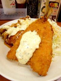 【7/6~】クイック・レストラン Sガスト 昨年比20%増量 ジャンボアジフライ&若鶏南蛮定食【期間限定】 - 食欲記(物欲記)