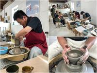 本日の陶芸教室 Vol.711 - 陶工房スタジオ ル・ポット
