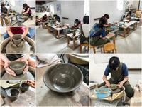 本日の陶芸教室 Vol.712、713 - 陶工房スタジオ ル・ポット