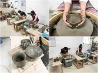 本日の陶芸教室 Vol.714 - 陶工房スタジオ ル・ポット