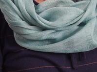 藍の生葉染め - 湘南手織り手作り物語